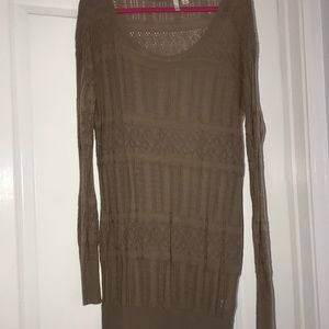 Frenchi knit sweater dress